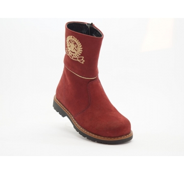 "Ботинки демисезонные 039-Bordo (ТМ ""Здрава обувка""Турция)"