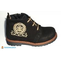 Ботинки дев. 032-Siyah Здрава обувка Турция 29(р)