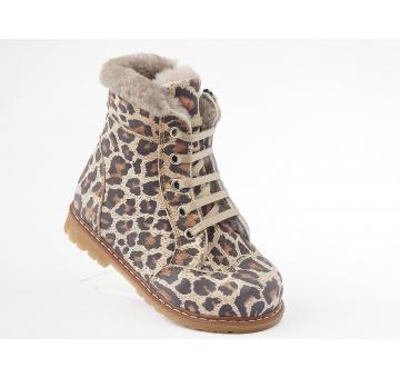 Ортопедические зимние ботинки LEOPAR KURK 1107 (ТМ Cezara, Турция)