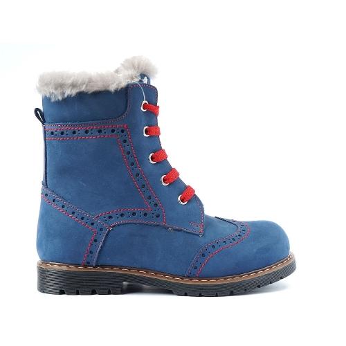 Ортопедические зимние ботинки koton nubuk kurk 571 (ТМ Cezara, Турция)
