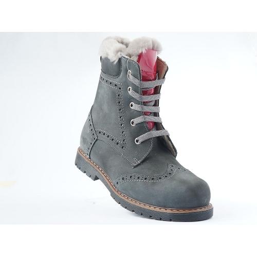 Ортопедические зимние  ботинки fume kurk 571  (ТМ Cezara, Турция)