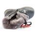 Ортопедические зимние ботинки 571 черные (ТМ Cezara, Турция)