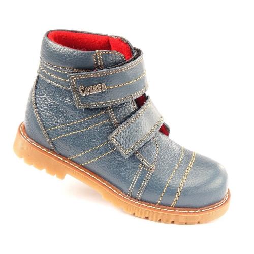 Ортопедические демисезонные ботинки синий 921  (ТМ Cezara, Турция)