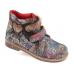 Ортопедические демисезонные ботинки фиолет 1714т (ТМ Cezara, Турция)