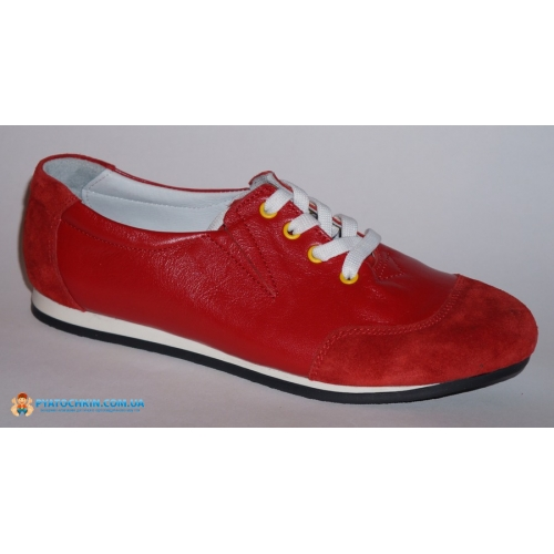 Мокасины дев. красный mok-3 Здрава обувка Турция 30(р)