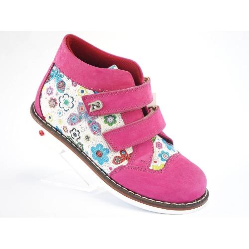 Ботинки деми дев. 1106 Fusya Здрава обувка Турция 27(р)