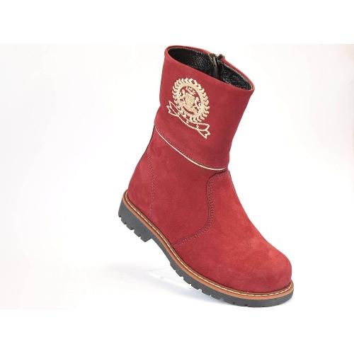 "Ботинки демисезонные 039-Bordo (ТМ ""Здрава обувка"",Турция)"