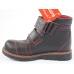 Ортопедические демисезонные ботинки черные 911 (пр. Cezara, Турция)