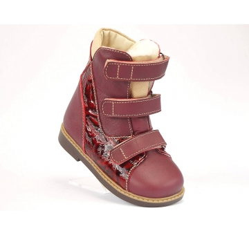 "Ортопедические зимние ботинки W-867  ( ТМ ""Orto "", Украина)"